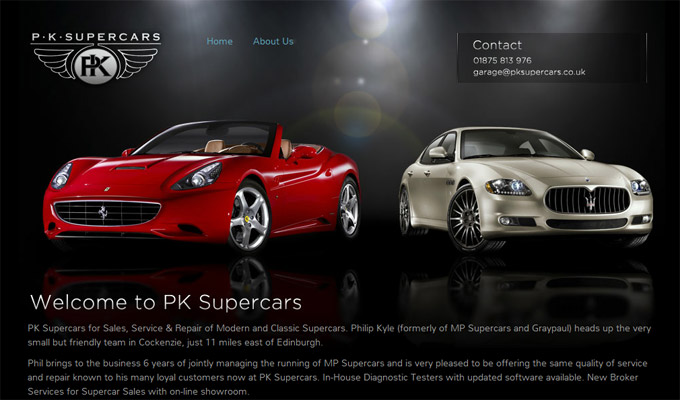 pk supercars